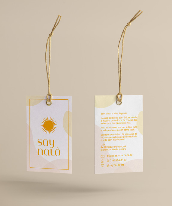 Rebranding Saynalô - Tags