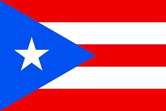 Imagen de la bandera de Puerto Rico.