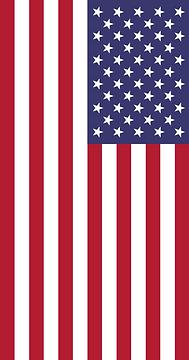 Bandera de Los Estados Unidos de America