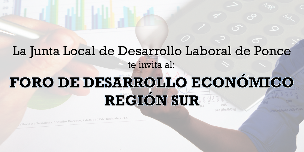 Foro desarrollo económico región sur