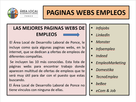 Paginas Webs de Empleos
