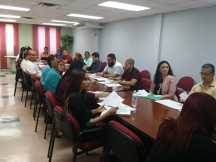 Meeting in Local Board