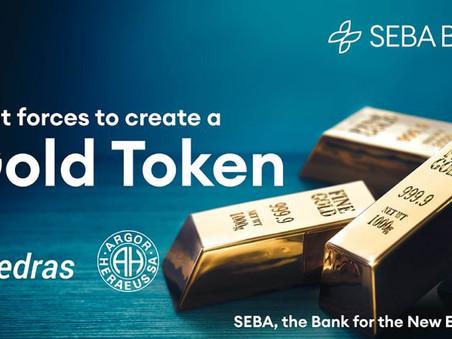 SEBA Bank will issue Gold Token