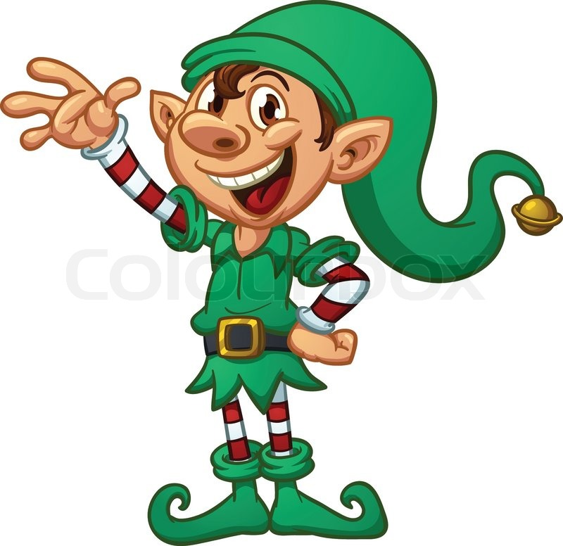 7014462-cartoon-christmas-elf