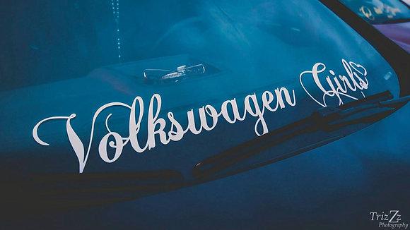 Volkswagen Girls Banner