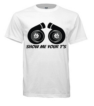 Show Me Your T's - Men T-Shirts