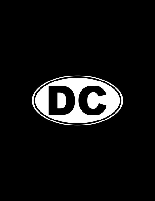 Dc decal washington dc