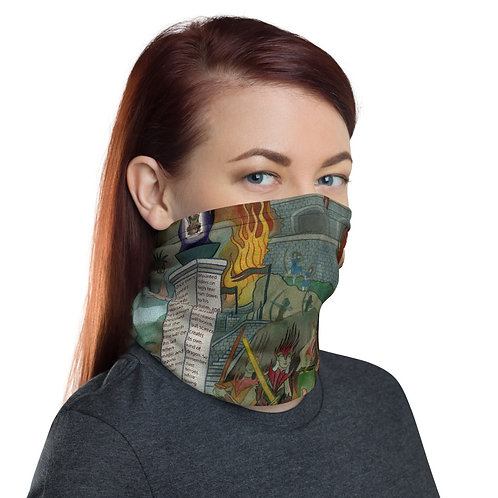 Gatefold Sleeve Neck Gaiter Face Mask
