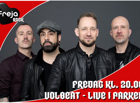 Volbeat live in concert d. 22. Maj