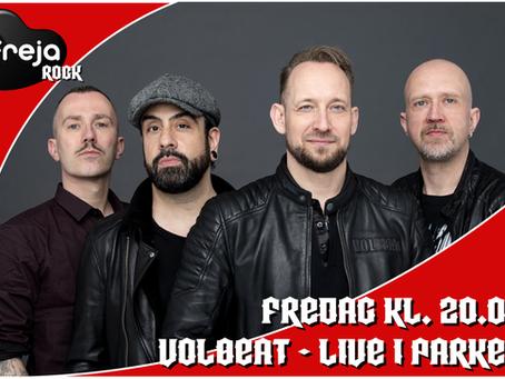 Volbeat live in concert d. 22. Maj