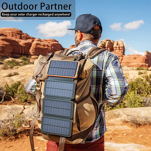 Solar Mate 4-Panel Phone Charger