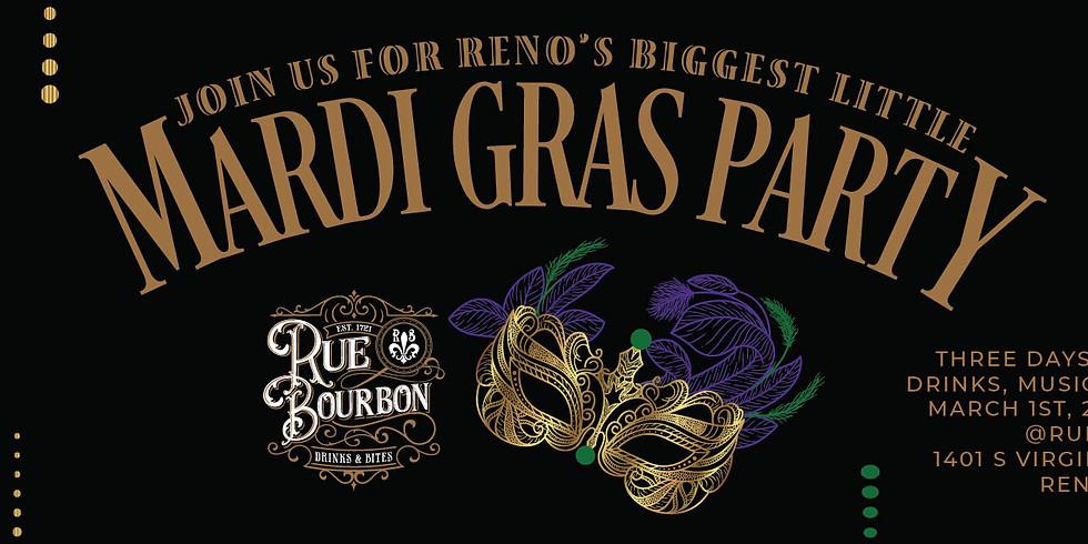 Rue Bourbon Mardi Gras!!