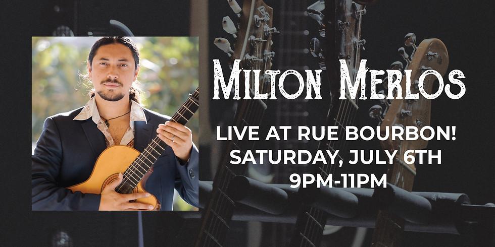 Live! Milton Merlos