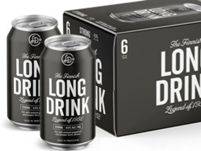 Long Drink-Black (6pk)
