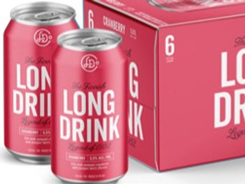 Long Drink Cranberry (6pk)