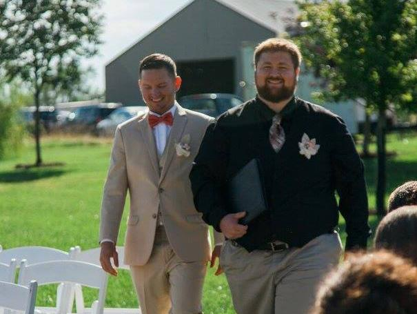 Cody and groom