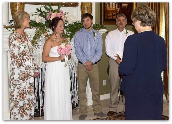 EVANS LG wedding