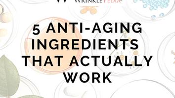 Trending Anti-Aging Ingredients that Actually Work