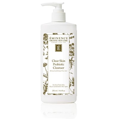 E- Clear Skin Probiotic Cleanser  8.4 oz