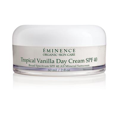 E- Tropical Vanilla Day Cream 40SPF   2 oz