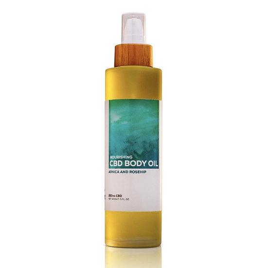 VB- RADIANCE: CBD Body Oil (250mg)