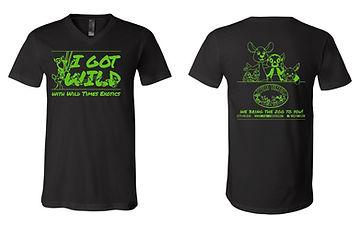 Wild Times Exotics t-shirt