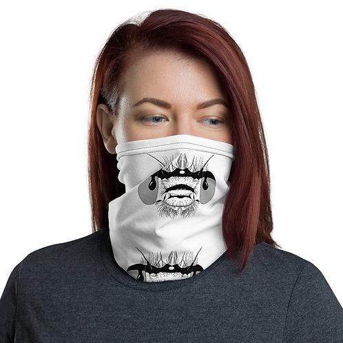 Damselfly Face Printed Neck Gaiter