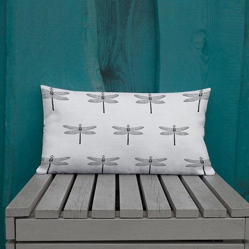 Dragonfly Premium Pillow