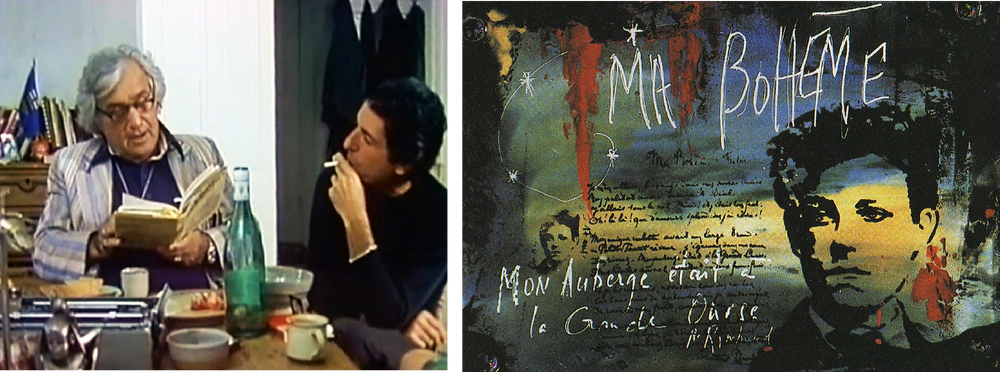 Leonard Cohen and Irving Layton, Rimbaud