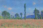 Claude Monet, Poppy Field (Giverny), 189