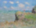 Claude Monet. Cliff Walk at Pourville, 1