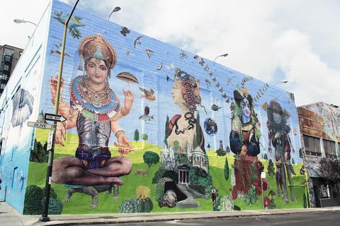 @CalamityFair | Mural work