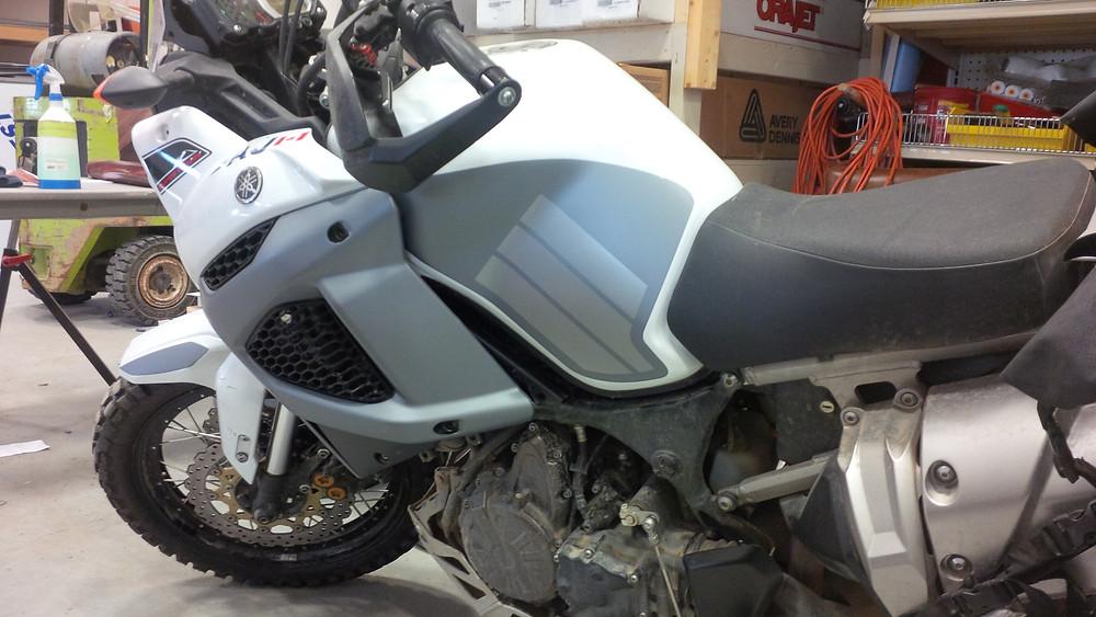 vinyl motorcycle wrap