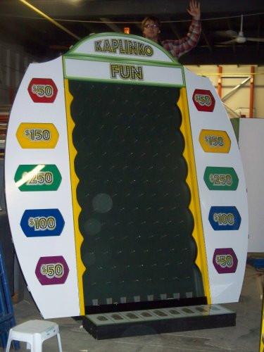 Casino Regina/Phoenix Group - Plinko Board.