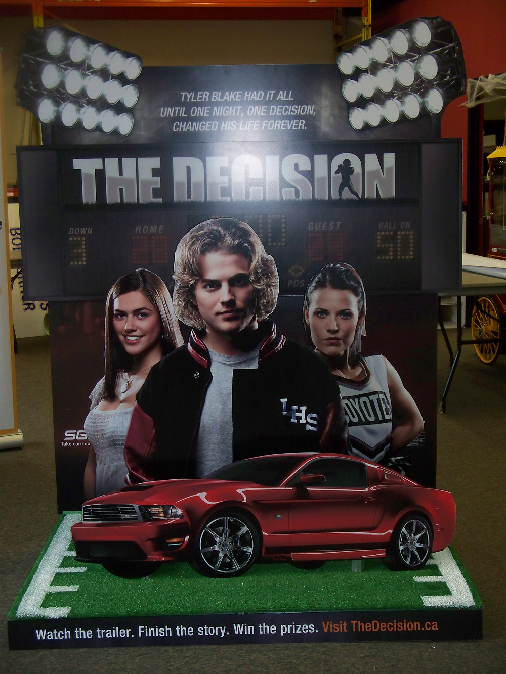 Phoenix Group/SGI - The Decision - custom display.