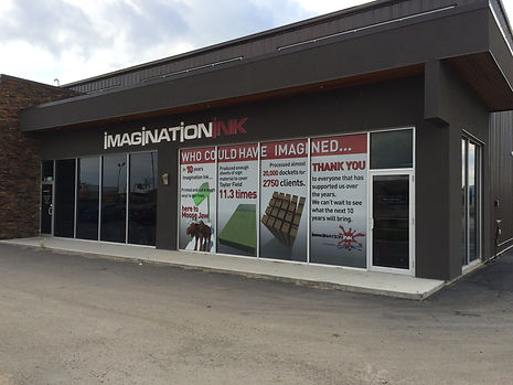 Imagination Ink - Storefront