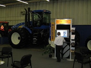 R.G. Mazer Blows Them Away at Manitoba Ag Days