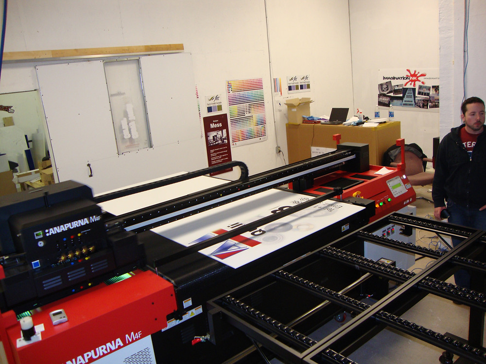Large Format Printer.