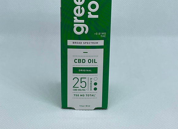 750 mg CBD OIL (BROAD SPECTRUM)