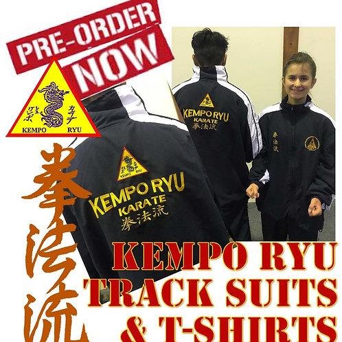 Kempo Ryu Hombu Dojo Track Suit and T- Shirt Offer