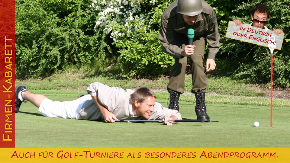 Fuer Golf-Turniere als besonderes Abendprogramm