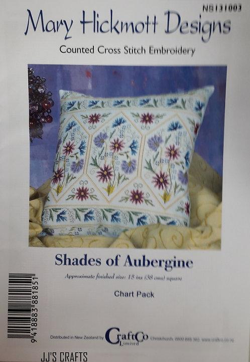 SHADES OF AUBERGINE