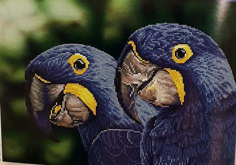 Diamond Dotz - Blue Hyacinth Macaws
