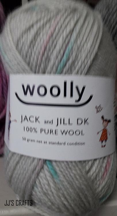Jack & Jill 100% wool-50gms