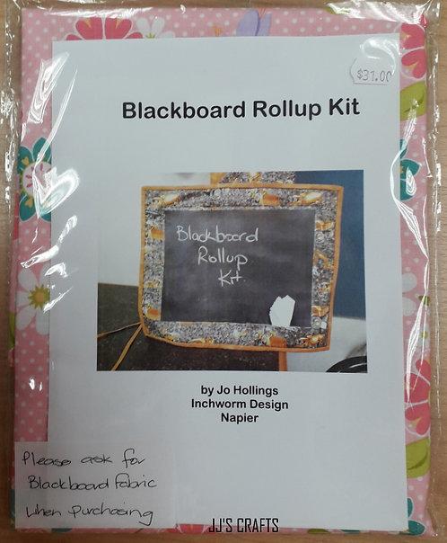 BLACKBOARD ROLLUP KIT- Flower print