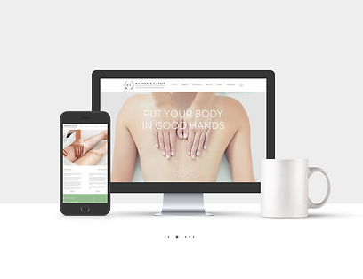 Web Design for RDT Therapy, by Spirit Fox Studio