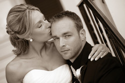 Bride and groom photography