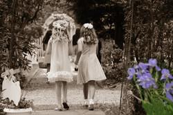 Flower girl photography.