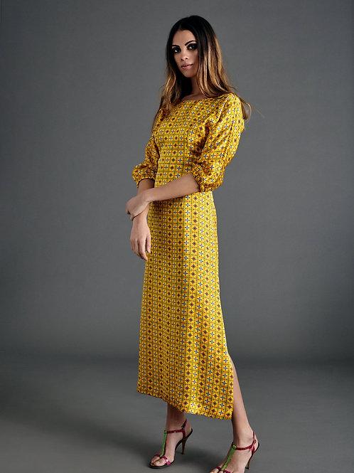 ZIFA MONEY PRINT DRESS