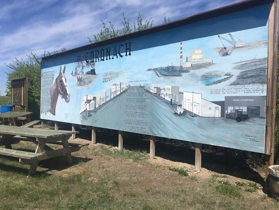 Coronach Mural